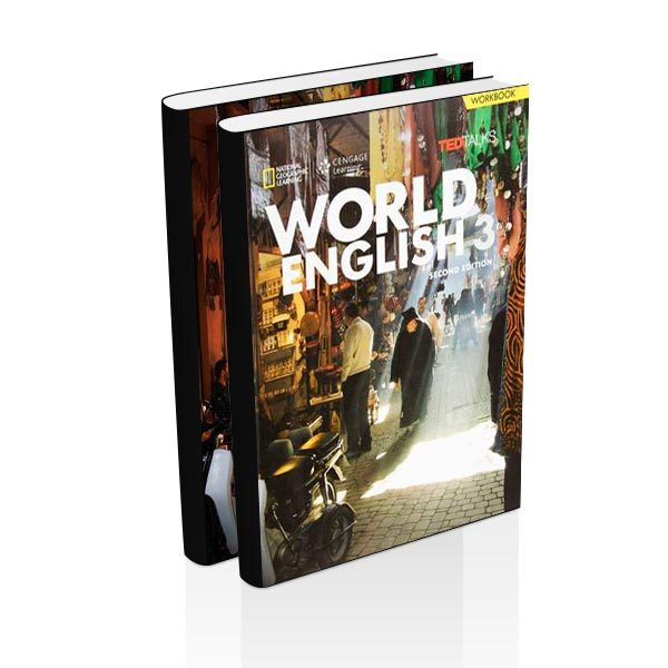 World English 3 - Student + Workbook - Cengage - majesticeducacion.com.mx